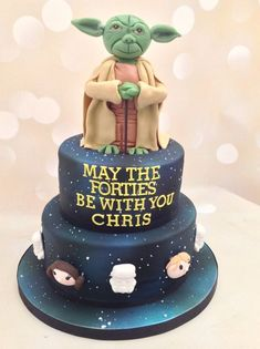Trendy birthday cupcakes for men star wars Birthday Cake For Men Easy, Dad Birthday Cakes, Birthday Star, 40th Birthday Parties, Man Birthday, Birthday Ideas, Husband Birthday, Birthday Wishes, Birthday Recipes