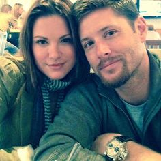 Jensen Ackles  To my sweet, beautiful wife. Happy Birthday. I know I've already told you several times today but if I don't post it on social media...who knows what will happen. I might get struck down by the Facebook gods, never to return. *so dumb. So happy bday DeeDee. Love u