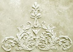 Raised Plaster Laureli Stencil Wall Stencil Decorative