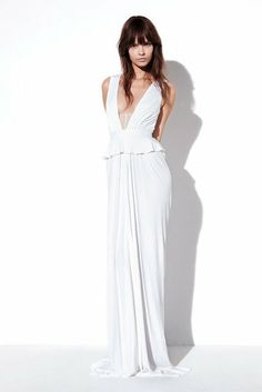 white perfection at Prabal Gurung Resort 2013