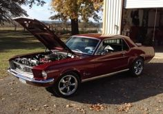 1968 Ford Mustang Coupe Muscle Car by TCStang http://www.musclecarbuilds.net/1968-ford-mustang-coupe-build-by-tcstang
