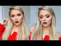 Valentines Day Makeup Tutorial 2017 - YouTube
