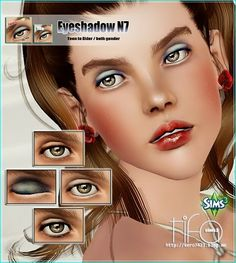 My Sims 3 Blog: New Makeup by Tifa