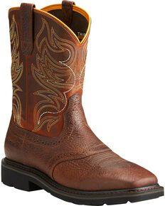 Ariat Sierra Men S Shadowland Mesa Work Boots Soft Toe Work Boots Men Steel Toe Work Boots Boots