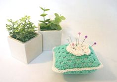 Turquoise and Mint by Bonnie Sernesky on Etsy