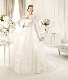 Vestidos de noiva com capa para 2014
