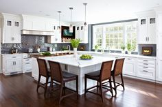 DEANE - Hint of Walnut - traditional - Kitchen - New York - DEANE Inc   Rooms Everlasting