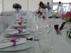 Catering Tim Lisak wedding table