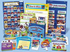 """Lakeshore Classroom Management System at Lakeshore Learning. """"Home Management"""" for the At-Home mom. Stay organized, keep a routine and teach/model time management for the children."""