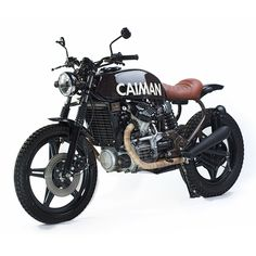 The true test of a custom bike builder is making the Honda CX500 look good. And the new South African shop Caiman has just passed with flying colors.
