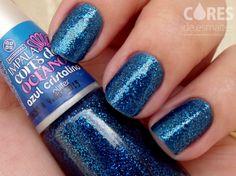 Azul Cristalino - Cores do Oceano