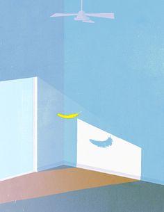 Selected works by Tokyo-based illustrator and painter Tatsuro Kiuchi