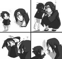 Sasuke and Itachi are so cute... <3