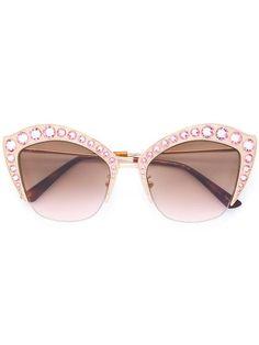 ac0bb41b4f Gucci Eyewear Cat-eye Sunglasses $1,135 - Buy Online SS18 - Quick Shipping,  Price