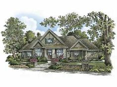 Undeniable Curb Appeal (HWBDO63856) | Craftsman House Plan from BuilderHousePlans.com