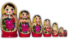 Kind of have a little obsession with Matryoshka Russian Dolls.