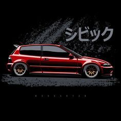 Honda Civic EG. Scroll right. T-shirts, covers, stickers, posters - already available in my store on #redbubble. Link in profile. #34 #olegmarkaryan #cardrawing #automotive #automotivearts #carinstagram #cargram #carposters #speedhunters #honda #hondacivic #hondacivicek #civic #civictyper #hondatyper #typer #cambergang #lowlife #drift #jdmlife #jdmgram #jdmonelove