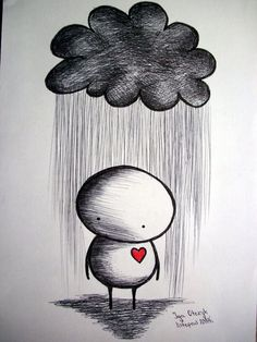 Sad emotional drawings - top images: art in 2019 dibujos tum Cool Easy Drawings, Sad Drawings, Art Drawings Sketches Simple, Cartoon Drawings, Drawing Ideas, Drawing Tips, Cute Love Drawings, Simple Pencil Drawings, Pencil Drawing Inspiration