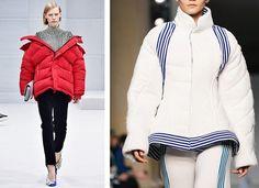 AW16 Fashion Trends on the catwalk at Balenciaga and Richard Malone