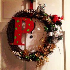 DIY Christmas Wreath Cheap & Easy