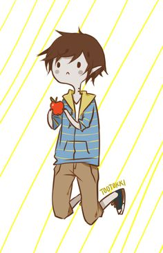 Marshall Lee only someone who watches adventure time would get this