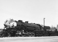 #5021 is an SP-2 class 4-10-2 steam locomotive built in 1926 by ALCO at their Schenectady, New York, shops.  It is the only member of this class of SP locomotives to be preserved, and it is one of only four 3-cylinder locomotives preserved in North America.  She is currently on static display at the Los Angeles County Fairgrounds in Pomona, California.