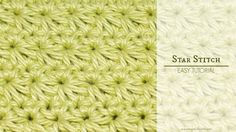 How To: Crochet The Star Stitch - Easy Tutorial