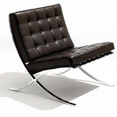 Barcelona Chair   1929 Ludwig Mies van der Rohe
