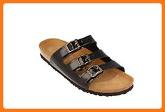 a67bf1d025a JOE N JOYCE Paris Synsoft Soft-Footbed Sandals Black size EU 39 - US W8 M6  Narrow ( Partner Link). Joe JoyceParisBirkenstock FloridaBlack ...
