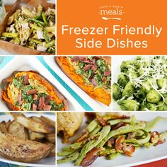Freezer Friendly Side Dishes - Once a Month Meals