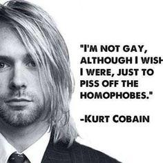 Kurt Cobain, Lead singer of the band, Nirvana Kurt Cobain Photos, Nirvana Kurt Cobain, Kurt Cobain Quote, Kurt Cobain Tattoo, Papa Roach, Breaking Benjamin, Garth Brooks, Rock Quotes, Me Quotes