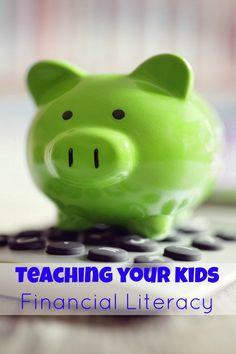 Teaching your kids Financial Literacy