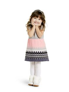 61a664df3 I am seriously loving these little sweater dresses! #littlegirl #toddler  #kidsfashion #