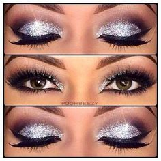 You can spatter some glitters over your favourite makeup to add another spot of attention for your style. Today, weâ��ve rounded up with 14 wonderful glittery eye makeup looks for 2017! Related PostsShimmer Eye Makeup for Night LookElegant Look Party and Night Out MakeupCute Date-Night Makeup Tutorial LooksPerfect Winged Smokey Eyeliner TutorialMakeup Tutorials For A … Continue reading Glitter and Shimmer Eyeshadow Tutorial →