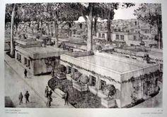 Protorracionalismo Tony Garnier (1869-1948) Cité Industrielle, Casa (1901) Tony Garnier, Interesting Drawings, Urban Design Plan, Street Trees, Desert Homes, Cities, Urban Planning, Ecology, Modern Architecture