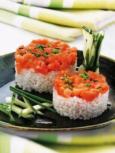 Tartar+de+salmón+con+arroz+japonés