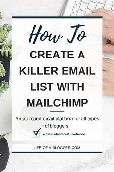 email marketing, email tips, newsletter, mailchimp, convertkit, ems, marketing, inbox