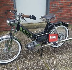 Bobber Motorcycle, Motorcycles, Tomos Moped, Vintage Moped, Custom Moped, Wheels, Racing, Board, Ideas