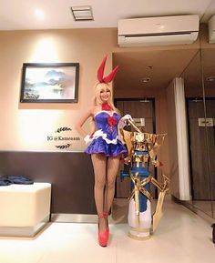 Layla cosplay from Mobile Legends