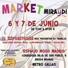 Market MIRAyDI - 6 y 7 de Junio ^_^ http://www.pintalabios.info/es/eventos-moda/view/es/2084 #ESP #Evento #Ferias