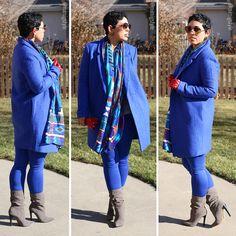 Blue Coat OOTD + Black Friday Haul - Mimi G Style