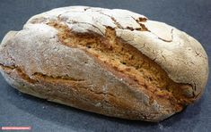fischi`s cooking and more....: einfaches bauernbrot