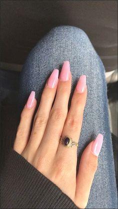 Pink acrylic nails, Acrylic nails coffin, Coffin nails Short acrylic nails, Coffin nails designs, Nails - natural summer nail designs you must see and try page 2 - Cute Acrylic Nails, Acrylic Nail Designs, Acrylic Art, Pink Acrylics, Acrylic Nails Autumn, Neutral Acrylic Nails, Light Pink Acrylic Nails, Acrylic Nail Shapes, Light Nails