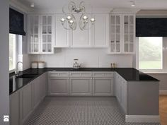 New home design vintage house plans Ideas Modern Kitchen Cabinets, Kitchen Cabinet Design, Interior Design Living Room, Kitchen Modern, Living Room Kitchen, Home Decor Kitchen, New Kitchen, Grey Kitchens, Home Kitchens