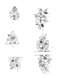 Mini Tattoos, Body Art Tattoos, Small Tattoos, Tatoos, Beautiful Flower Tattoos, Pretty Tattoos, Lottus Tattoo, Hawaii Tattoos, Tattoo Set