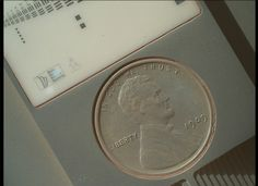 909 Penny on Curiosity Rover... only a camera calibration target, but interesting