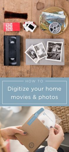 Have old home movies, photos or film? Southtree converts them to DVD or thumb drive. Simply collect and mail them to us to digitize. In a few weeks we'll return the originals with new digital copies so you can enjoy with friends and family.