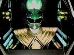 One of the incredibly rare times Tommy was inside the Dragonzord