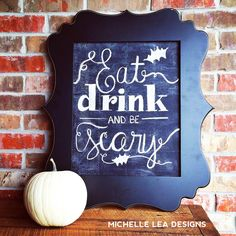 michelle lea designs: Chalkboard Class FUN