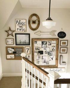 28 Stilvolle Treppen Dekorationsideen Für Die Darstellung Von Pflanzen Bis  Hin Zu Bildern